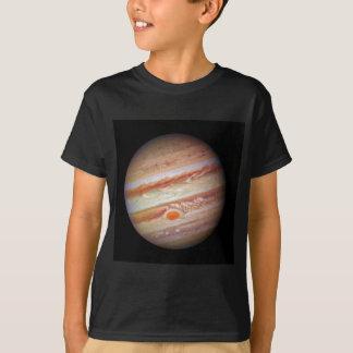 Rood de vlekhoofd van JUPITER ` van de PLANEET op T Shirt