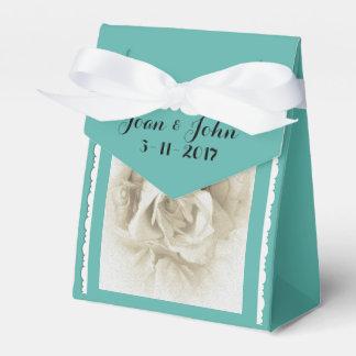 Rose blanc bleu des oeufs de Robin pour la boîte Ballotin De Dragées
