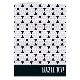 Rose d'Aztèque de Mazel Tov Carte De Correspondance