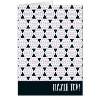Rose d'Aztèque de Mazel Tov Carte De Vœux