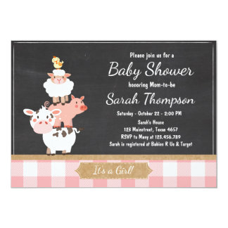 rose de b b de pays d 39 invitation de baby shower carton d 39 invitation