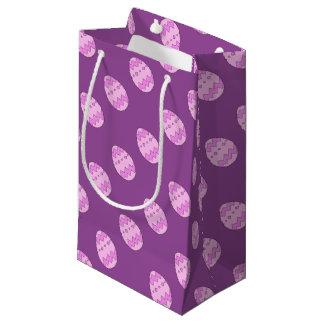 Rose d'oeuf de pâques petit sac cadeau