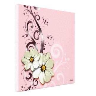 Rose floral fleuri du Flourish | Toiles