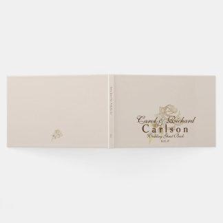 Rose Livre-D'or d'invité de mariage Livre D'or