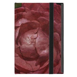 Rose rouge criqué par Shirley Taylor Étui iPad Mini