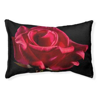 Rose rouge lit pour chien