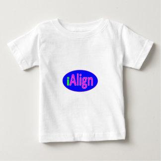 rose vert d'iAlign, bleu, et lumineux au néon T-shirt Pour Bébé