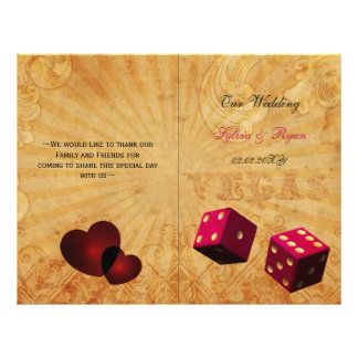 Rose vert rustique de Vegas plié épousant le Tract Customisé