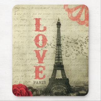 Rose vintage de Paris   Tapis De Souris