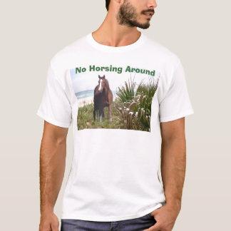 Roseau des sables unisexe de T-shirt de cheval