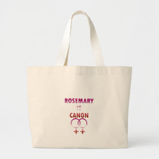 Rosemary est Canon (v2) Grand Tote Bag