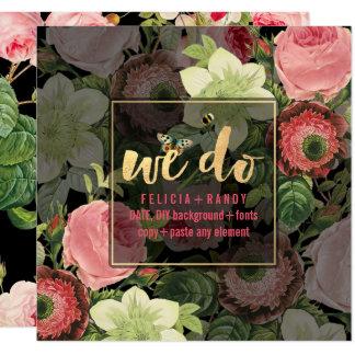 Roseraie de PixDezines Carton D'invitation 13,33 Cm