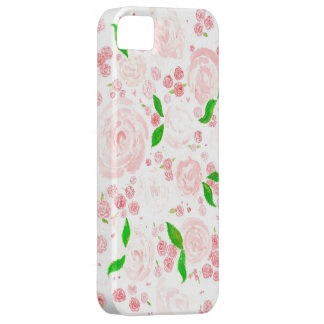 Roseraie rose coque iPhone 5