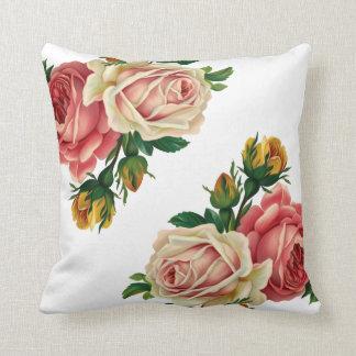 Roses Coussin Décoratif