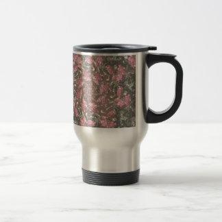 Roses de hippie mug de voyage