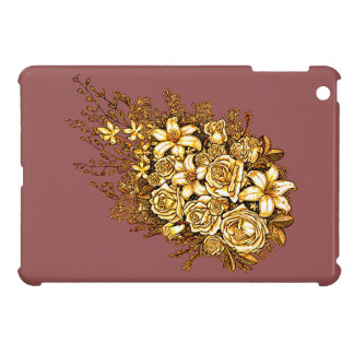 Roses et ketmie étui iPad mini