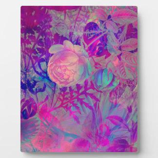 roses plaque photo