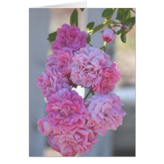 Roses romantiques inspirés carte
