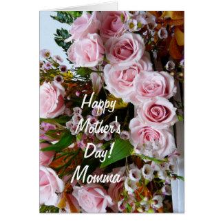 Roses roses du Day-Momma/de la mère heureuse Carte