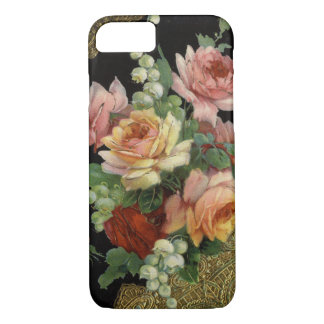Roses vintages coque iPhone 7