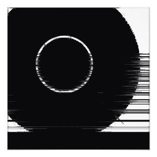 roue noire impression photo