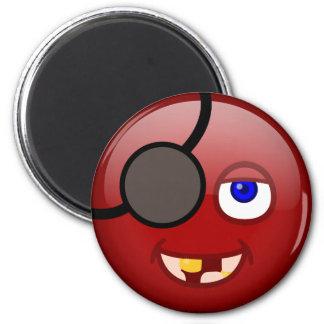Rouge de pirate aimants