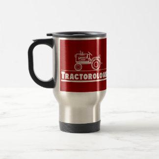 ROUGE d'Ologist de tracteur Mug De Voyage
