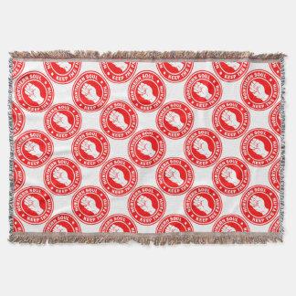 rouge du nord de logo d'âme couverture