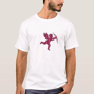 Rouge foncé de cupidon de T-shirt
