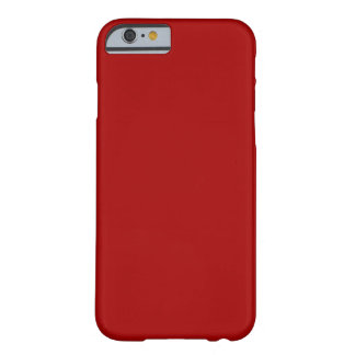 Rouge foncé de sucrerie coque iPhone 6 barely there