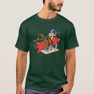 Rouge Rocket d'E. Coyote Launching de Wile T-shirt
