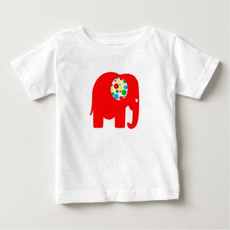 Rouge, tacheté, neutre de genre, T-shirt