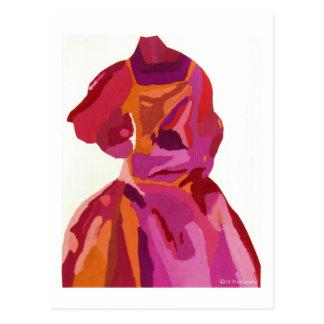 Rouges d'automne de Fashionista de diva Cartes Postales
