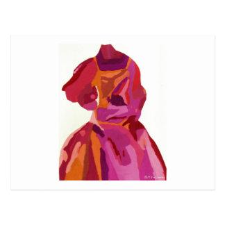 Rouges d'automne de Fashionista de diva Carte Postale