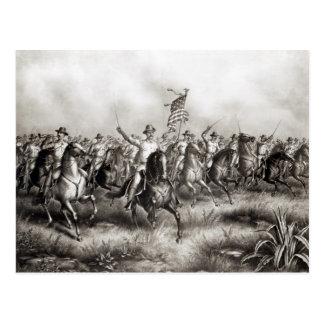Rough Riders: Kolonel Theodore Roosevelt Wenskaart