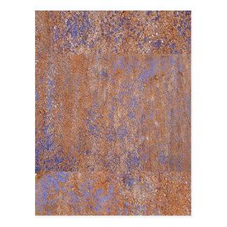 Rouille bleue carte postale