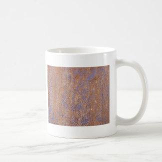 Rouille bleue mug blanc