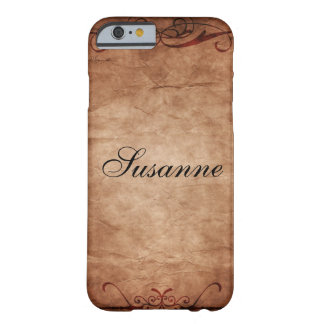 Rouleau de papier antique coque barely there iPhone 6