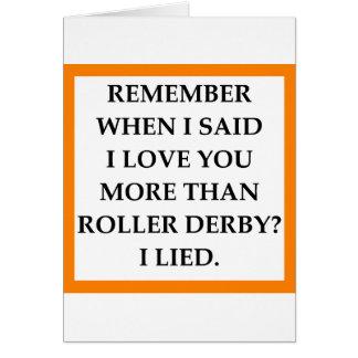 rouleau Derby Carte