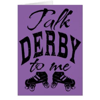 Rouleau Derby, patin à vivre vivant pour patiner Carte