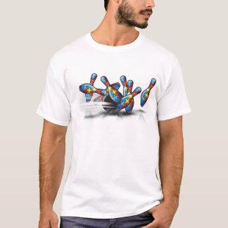 Roulement pour l'autisme t-shirt