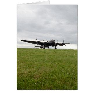 Roulement sur le sol d'Avro Lancaster Carte