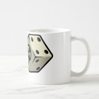 Roulez les matrices mug blanc