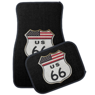 Route 66 auto vloermat
