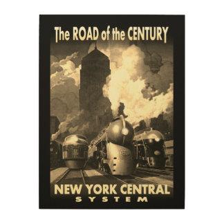Route de NYC du siècle Impression Sur Bois