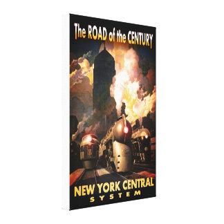 Route de NYC du siècle Toile