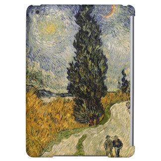 Route de Vincent van Gogh | avec des cyprès, 1890