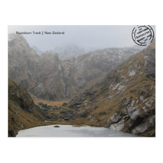 Routeburn voies carte postale (de