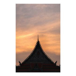 Royal, architecture de palais, Cambodge Papeterie