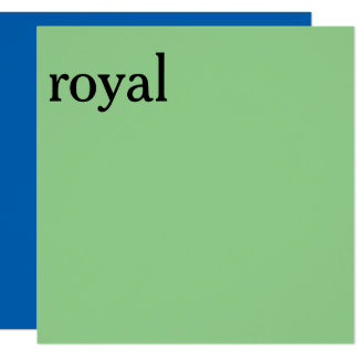 royal carton d'invitation  13,33 cm